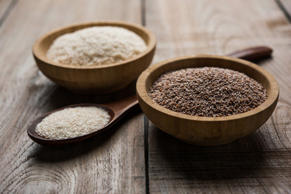 Psyllium to eliminate constipation
