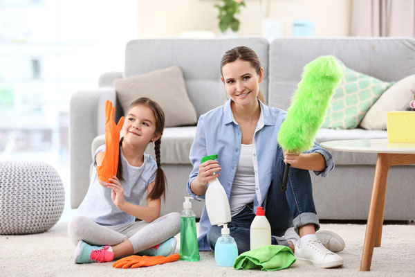 Keeping Your Home Clean Between Cleanings