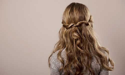 keep your long hair tangle free naturally