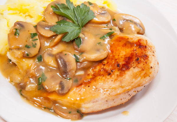 Herbed Chicken Marsala
