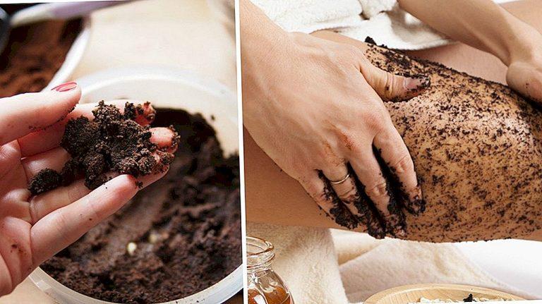 Homemade body scrub recipes natural