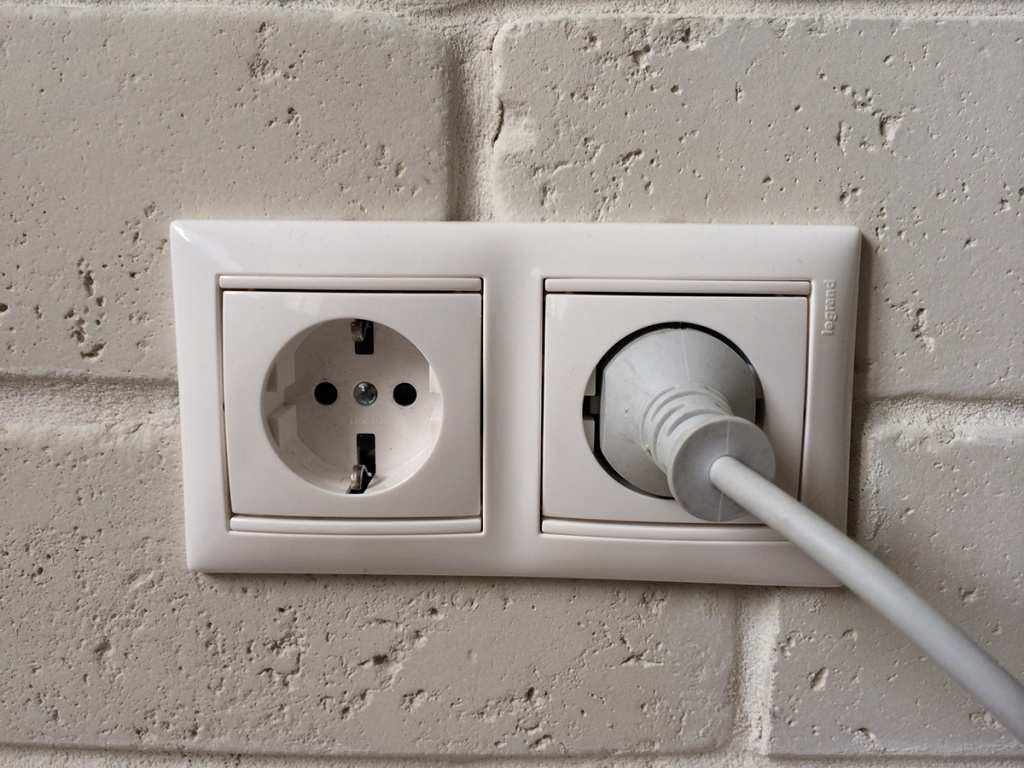 Reset the circuit breaker for your electrical outlet