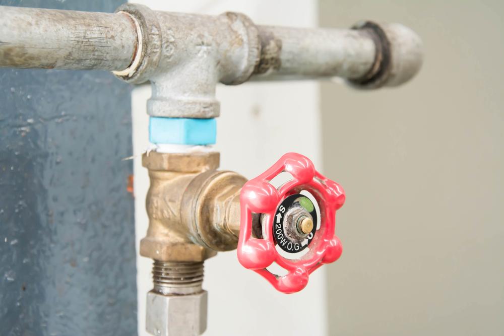 shut off the main water supply